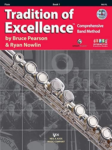 W61FL - Tradition of Excellence Book 1 - Flute: Bruce Pearson, Ryan Nowlin