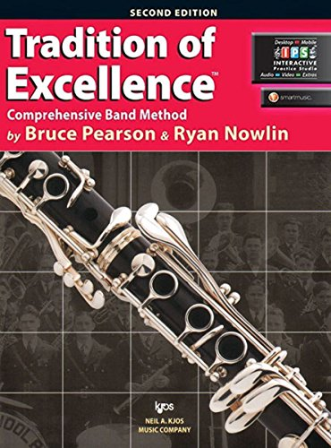 9780849770531: W61CL - Tradition of Excellence Book 1 - Bb Clarinet