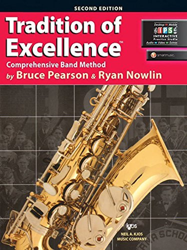 9780849770579: W61XE - Tradition of Excellence Book 1 - Alto Saxophone