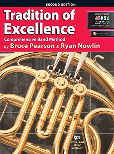 9780849770616: W61HF - Tradition of Excellence Book 1 - F Horn