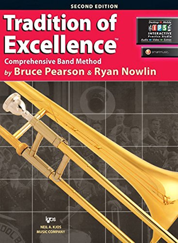 9780849770630: W61TB - Tradition of Excellence Book 1 - Trombone