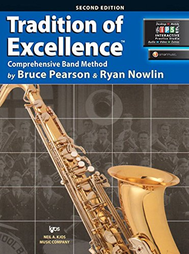 9780849771323: W62XB - Tradition of Excellence Book 2 - Bb Tenor Saxophone