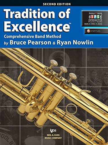 W62TP - Tradition of Excellence Book 2 - Bb Trumpet/Cornet: Bruce Pearson & Ryan Nowlin