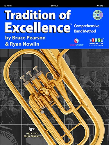 9780849771361: W62HE - Tradition of Excellence Book 2 - Eb Horn