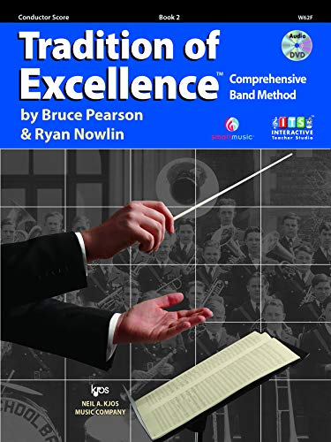 9780849771477: W62F - Tradition of Excellence - Book 2 - Conductor Score