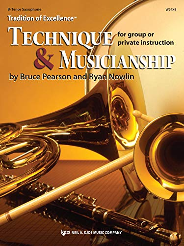 9780849771828: W64XB - Tradition of Excellence Technique & Musicianship - Bb Tenor Saxophone