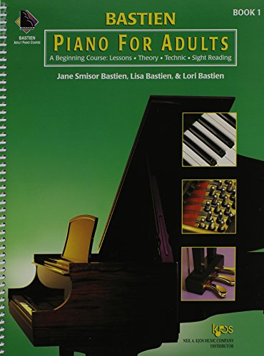 9780849773020: Piano for Adults: A Beginning Course : Lessons, Theory, Technic, Sight Reading: 1