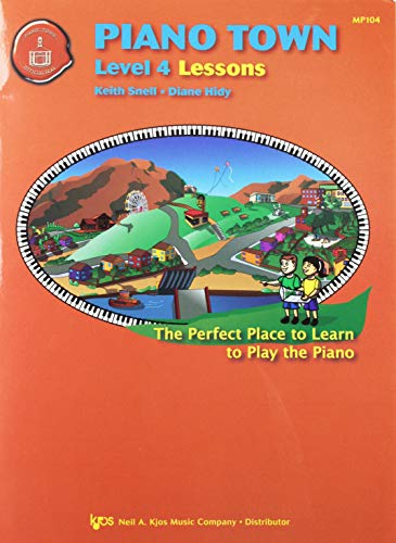 9780849773280: MP104 - Piano Town - Lessons Level 4