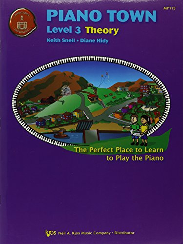 9780849773327: MP113 - Piano Town - Theory - Level 3