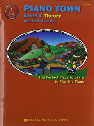 MP114 - Piano Town Theory Level 4: Keith Snell