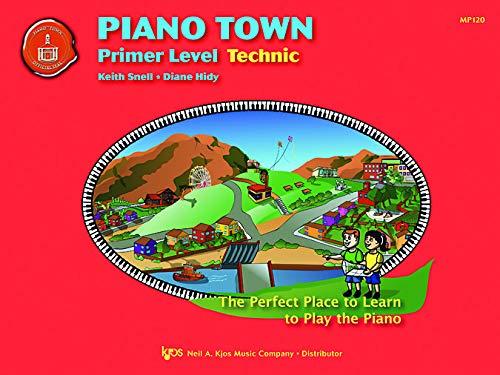 9780849773341: MP120 - Piano Town - Technic Primer Level Book