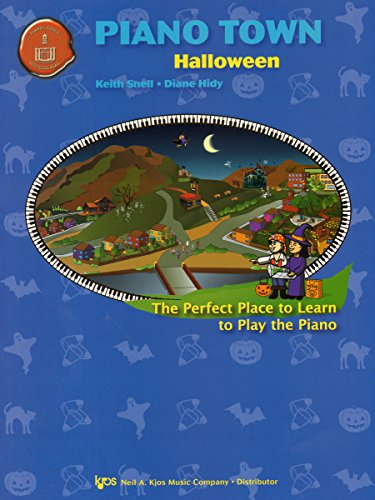 9780849773600: Piano Town Halloween - Level One (Book 1)