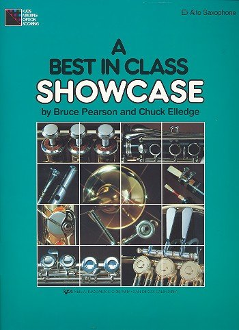 9780849783999: A Best in Class Showcase (Comprehensive Band Method, Eb Alto Saxophone)