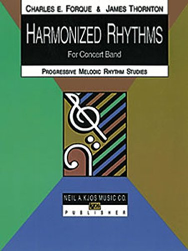 9780849785450: Harmonized Rhythms for Concert Band-Percussion: Progressive Melodic Rhythm Studies