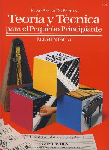 9780849786488: BASTIEN - Teoria y Tecnica para el Pequeño Principiante Nivel Elemental A para Piano
