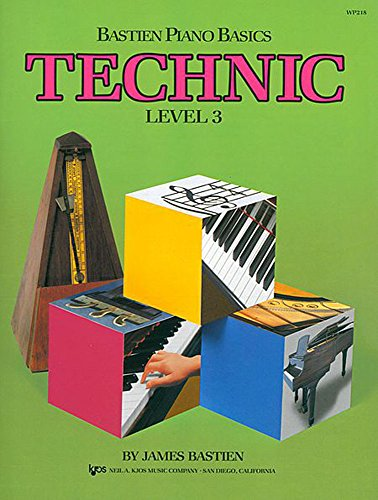 9780849793028: Bastien Piano Basics: Technic : Level 3