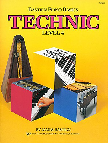 9780849793035: Technic : Level Four (Bastien Piano Basics)