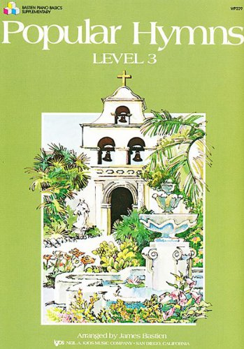 WP229 - Popular Hymns Level 3 -: James Bastien