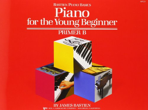9780849793189: Piano for the Young Beginner: Primer B (Bastien Piano Basics)