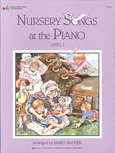 9780849793455: WP242 - Nursery Songs for the Piano Level 1