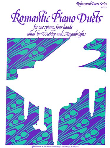 9780849793851: WP193 - Rediscovered Duets Series - Romantic Piano Duets for one piano, four hands