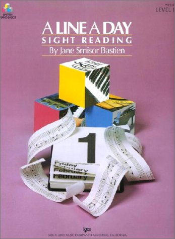 9780849794223: A Line a Day Sight Reading: Level 1