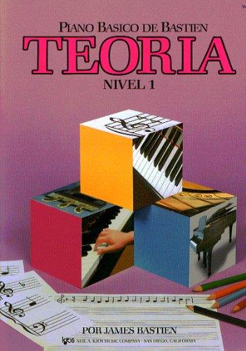 9780849794476: BASTIEN - Teoria Nivel 1º para Piano