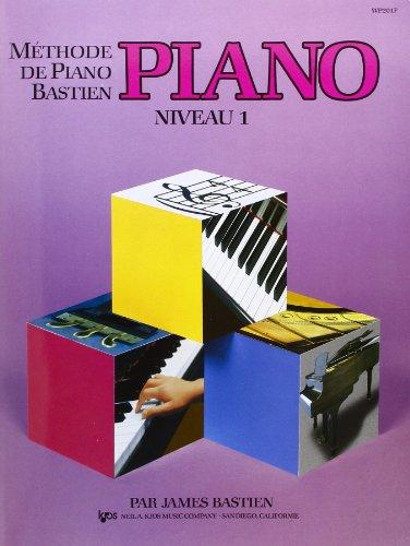 9780849794582: Bastien : méthode de piano niveau 1