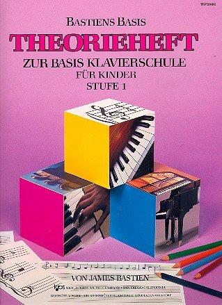 9780849794681: Theorieheft zur Basis Klavierschule für Kinder Stufe 1