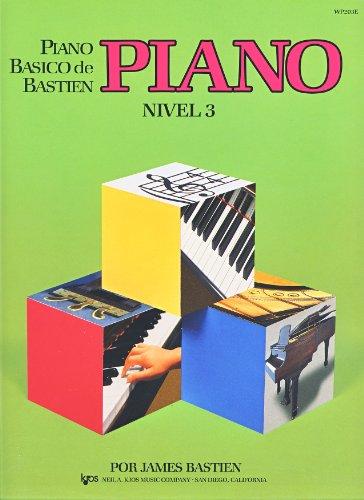 9780849794728: BASTIEN - Metodo Nivel 3º para Piano (WP203E)