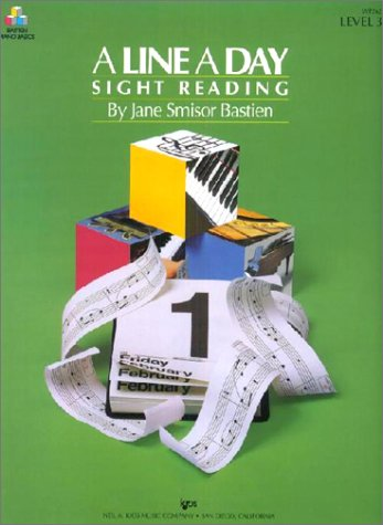 9780849794988: A Line a Day Sight Reading: Level 3