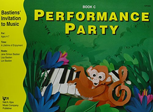 9780849795589: WP280 - Bastien Invitation To Music Performance Party Book C