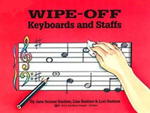 WP269 - Wipe-Off: Keyboards And Staffs: Bastien, Jane
