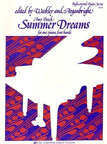 9780849795749: Summer Dreams: For One Piano, Four Hands