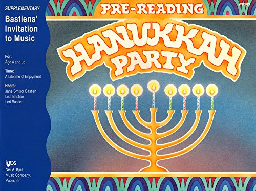 Pre-reading Hanukkah Party - Bastien' Invitation to: James Bastien