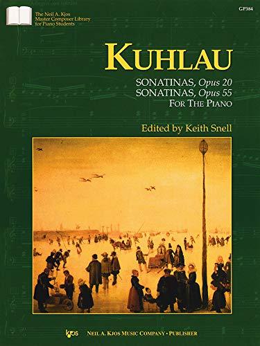 GP384 - Sonatinas Opus 20 and Opus: Kuhlau, Friedrick