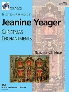 9780849796586: Jeanine Yeager: Christmas Visions (Music for Christmas, Level Seven 7)