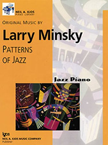 9780849796739: Patterns of Jazz (JAZZ PIANO, Level Six)