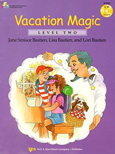 9780849797019: WP422 - Vacation Magic Book/CD - Level 2 - Bastien