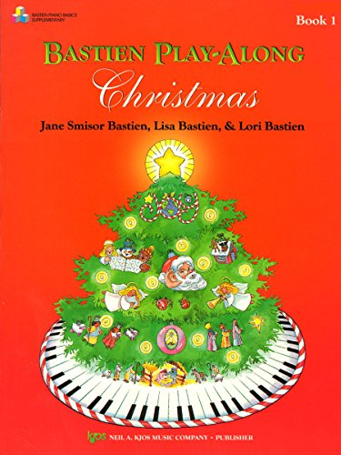 9780849797071: WP415B - Bastien Play-Along Christmas Book 1 - Book Only