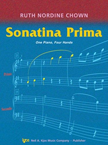 9780849797446: WP1118 - Sonatina Prima - One Piano, Four Hands