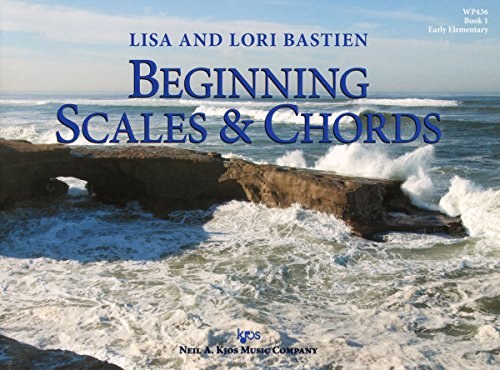 9780849797750: WP436 - Beginning Scales & Chords - Book 1