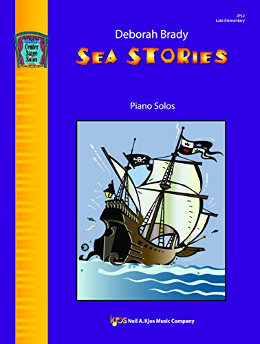 9780849798146: JP52 - Sea Stories Piano Solos Late Elementary