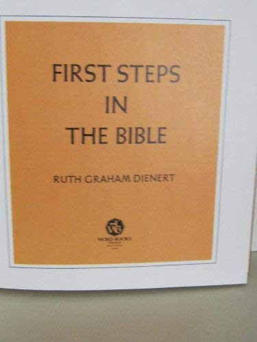 9780849901478: First steps in the Bible