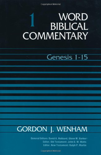 9780849902000: Word Biblical Commentary, Vol. 1: Genesis 1-15