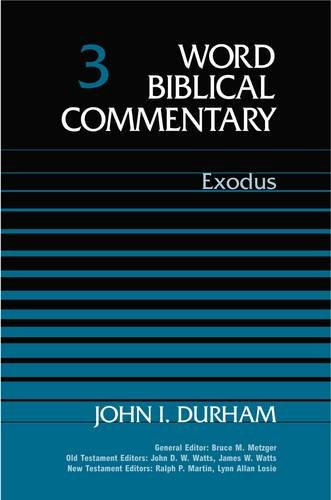 9780849902024: Word Biblical Commentary: Exodus: 3