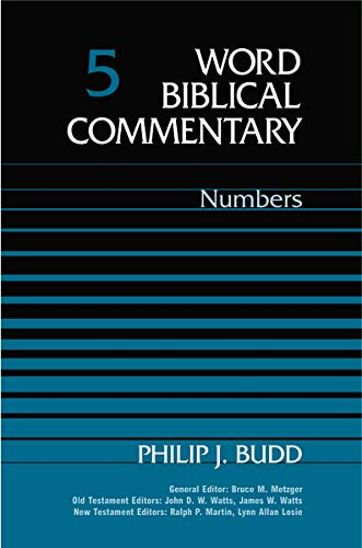 Word Biblical Commentary Volume 5 Five, Numbers