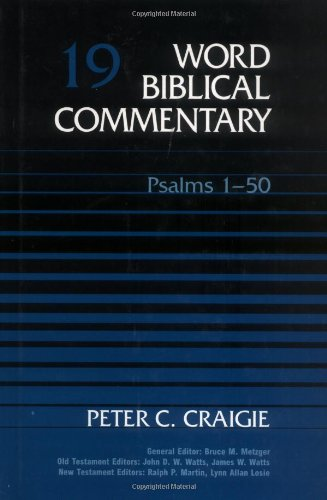 9780849902185: PSALMS VOL 19 HB: Psalms 1-50 (Word Biblical Commentary)