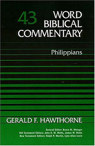 9780849902420: Word Biblical Commentary Vol. 43, Philippians