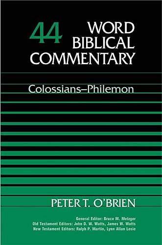 9780849902437: Word Biblical Commentary: Colossians and Philemon: 44